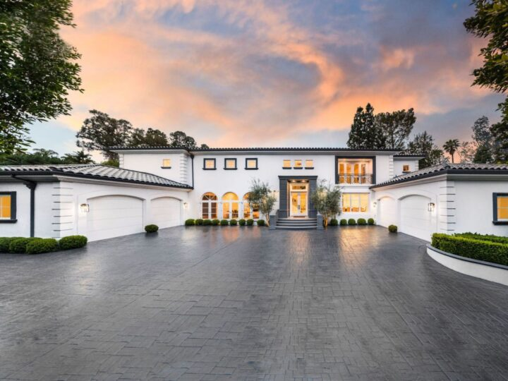 Transitional Contemporary Masterpiece in Beverly Hills for Sale at $22.9 Million