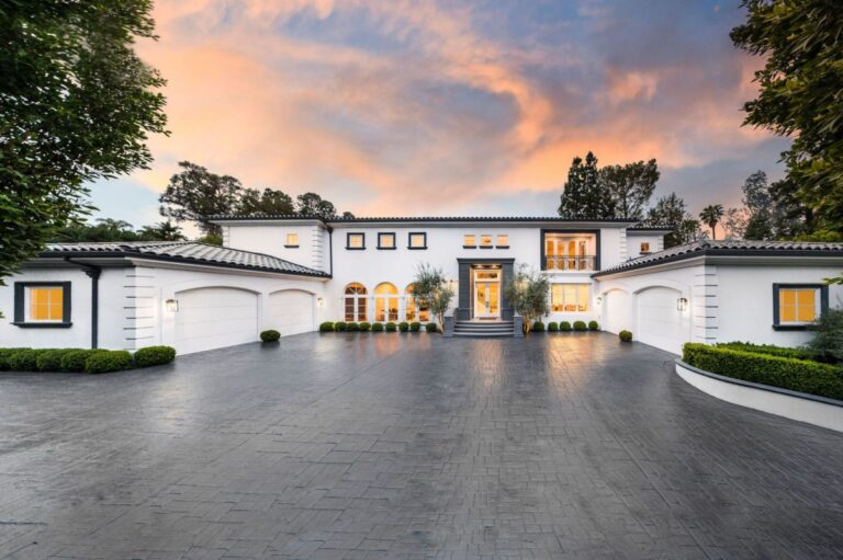 Transitional Contemporary Masterpiece in Beverly Hills, Los Angeles