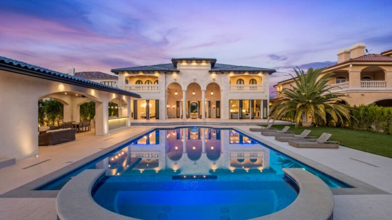 Majestic Mediterranean Estate in Granada Hills on Market for $11.6 Million