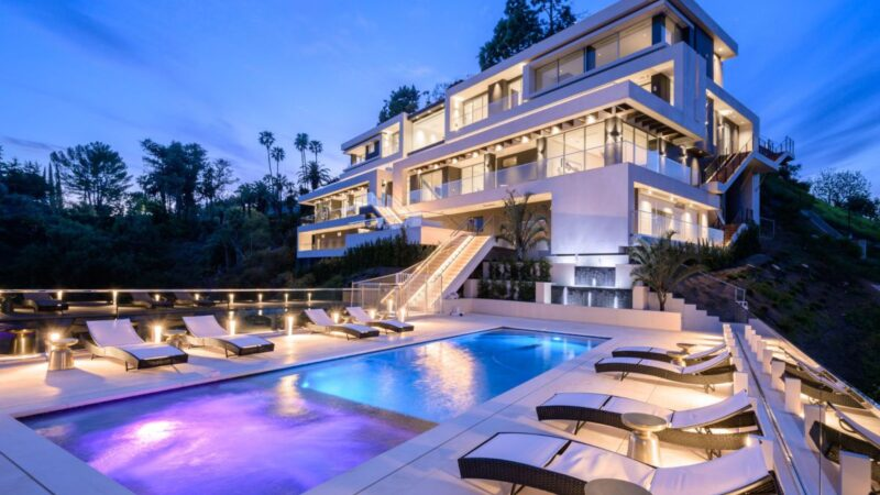 1250 Bel Air Road, the Pinnacle of Los Angeles returns Market for $48 Million