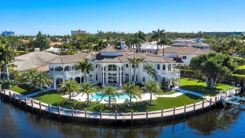 $11.5 Million Boca Raton Transitional Estate with Breathtaking Water Views