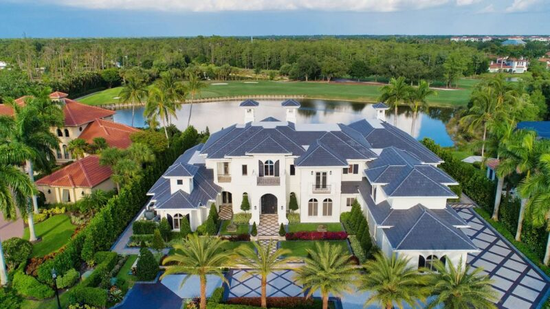 Magnificent Nighthawk Point Estate in Naples on Listed for $7.3 Million