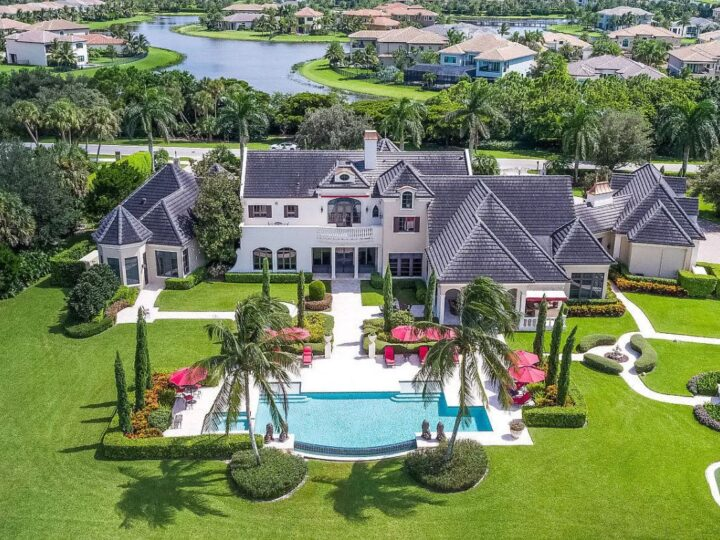 Delray Beach's Quiet Vista Lakefront Estate on Market for $6.2 Million