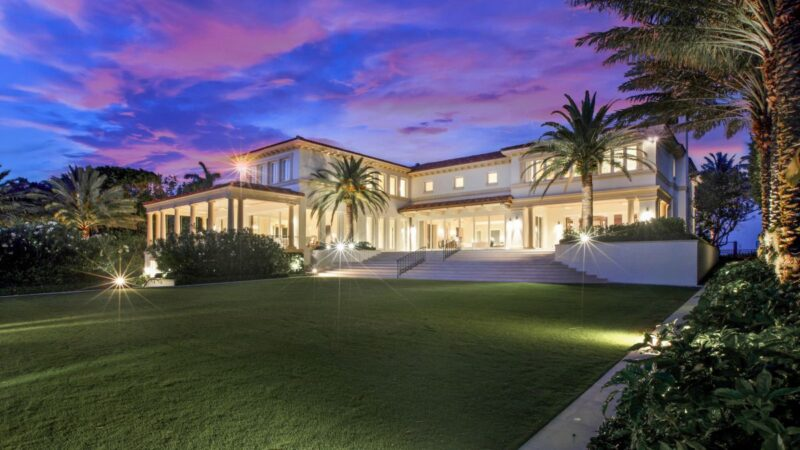 Palm Beach Island Mega Mansion on Market for $60 Million