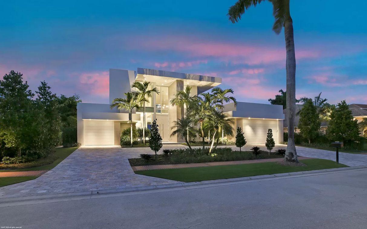 Boca Raton's Foxborough Lane Modern Home on Market for $4.8 Million