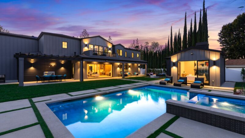 19101 Gayle Place Residence, Tarzana, CA on Market for $3.8 Million