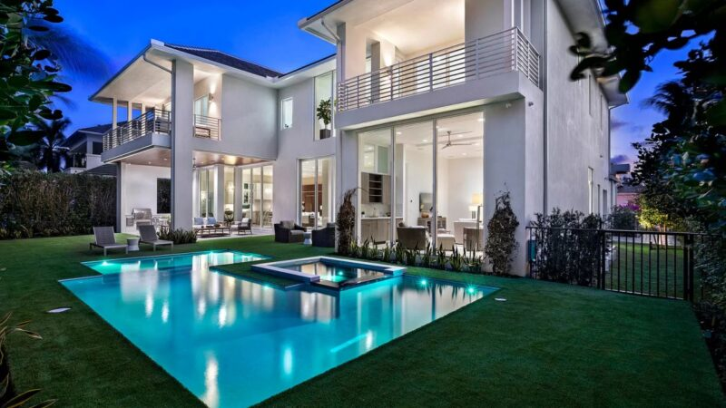 West Silver Palm Coastal Contemporary Masterpiece listed for $5.4 Million