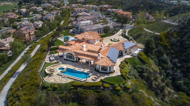 The Most Spectacular Custom Estate in Sand Canyon returns for $3 Million