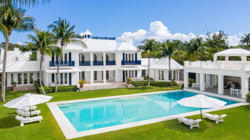 319 North Atlantic Residence in Lantana on Market for $16 Million