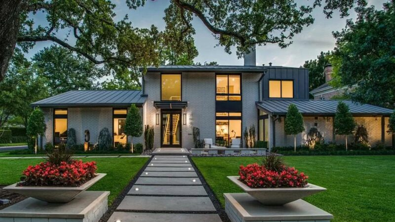 Architecturally Significant Modern Home in Dallas for Sale at $5.3 Million