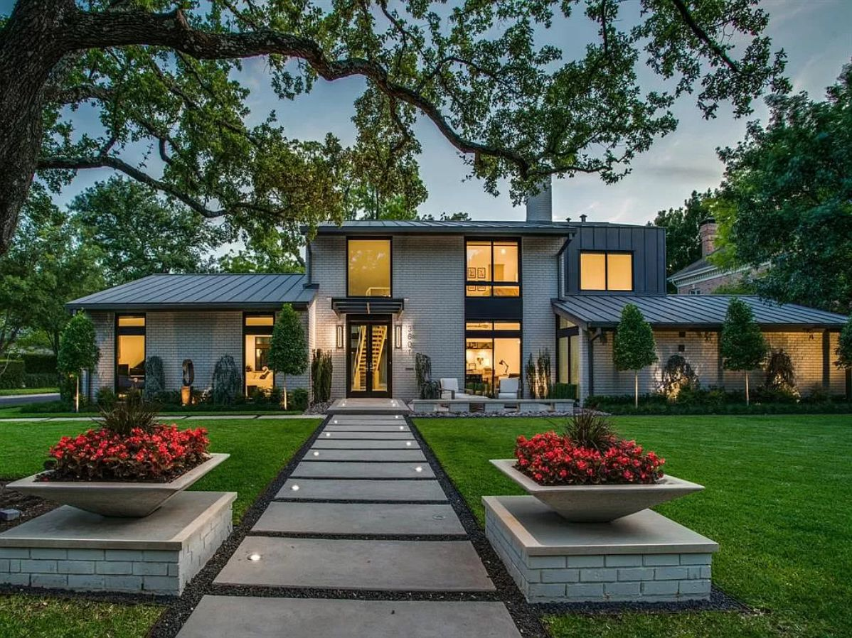 Architecturally Significant Modern Home in Dallas, texas