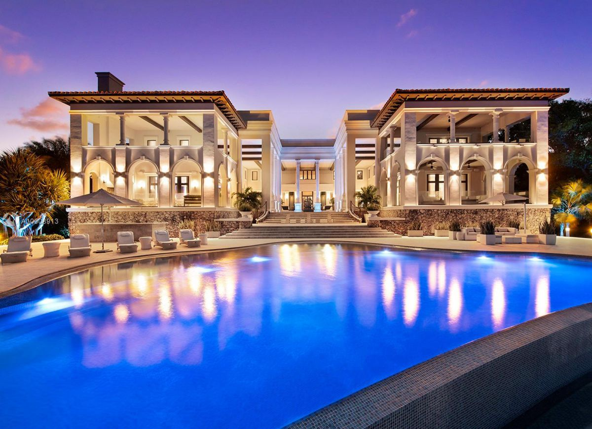 $34 Million Exquisite Waterfront Mansion on Tahiti Beach Island for Sale