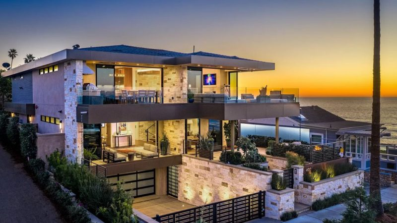 Newly Built Waterfront Estate in Encinitas on Market for $9.5 Million