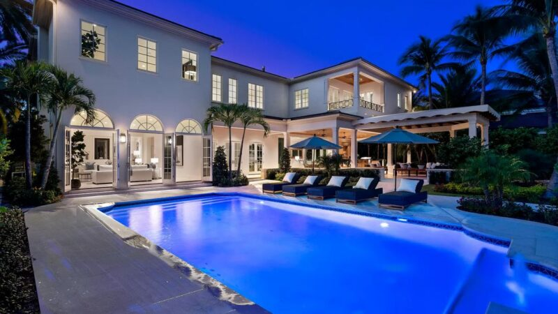 4081 Ibis Point Residence in Boca Raton with An Asking Price of $9.5 Million