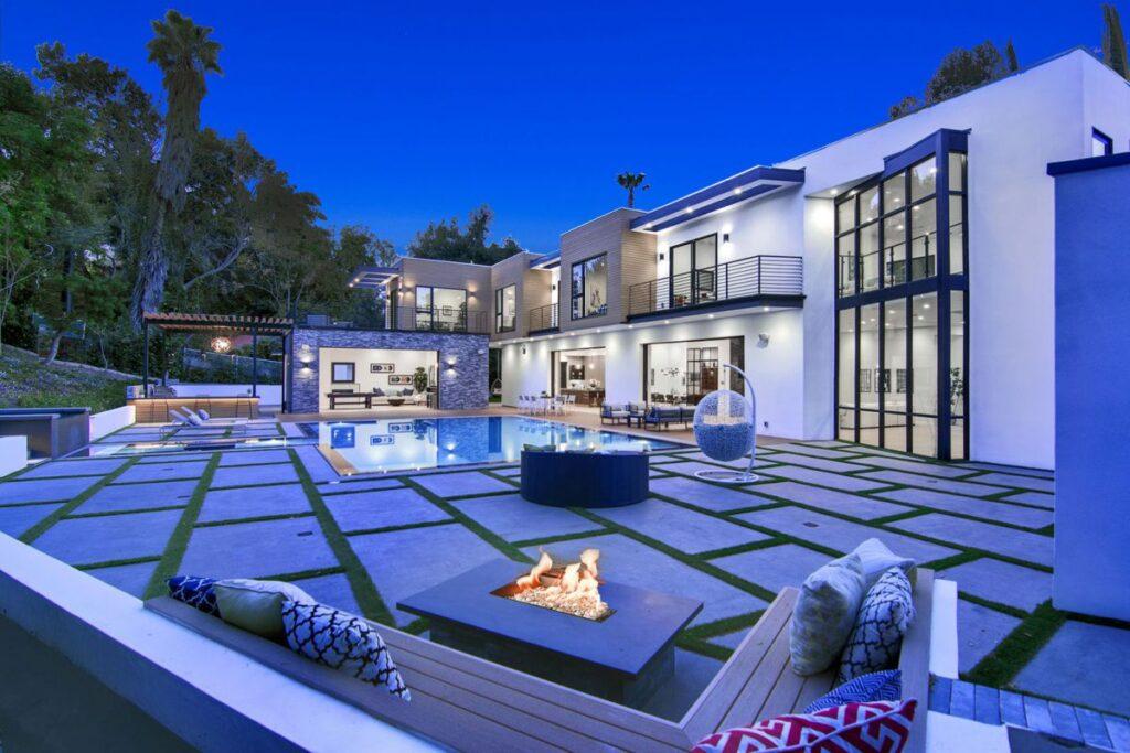 Tarzana Modern Masterpiece, Modern Home, California