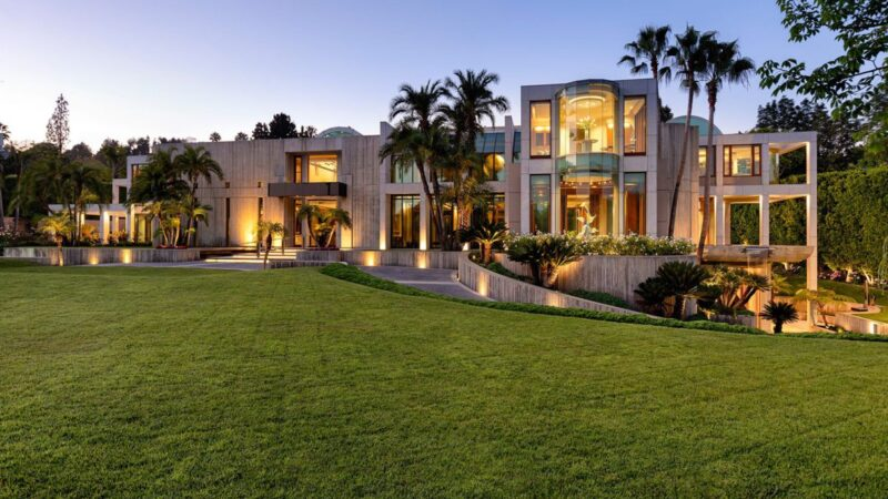 The Glazer Estate – World Class Modern in Beverly Hills Listed for $69.5 Million