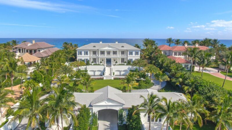 Brand New Lantana oceanfront Mansion hits Market for $42 Million