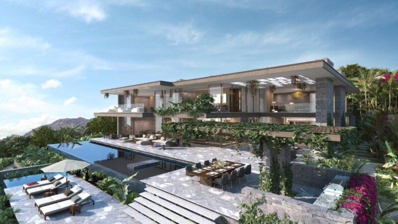 Bel Air's Valuable Estate Design Concept by Bulli Architecture + Development