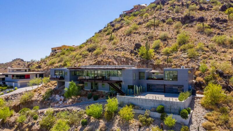 Paradise Valley's Clearwater Concrete Home for Sale at $5.3 Million
