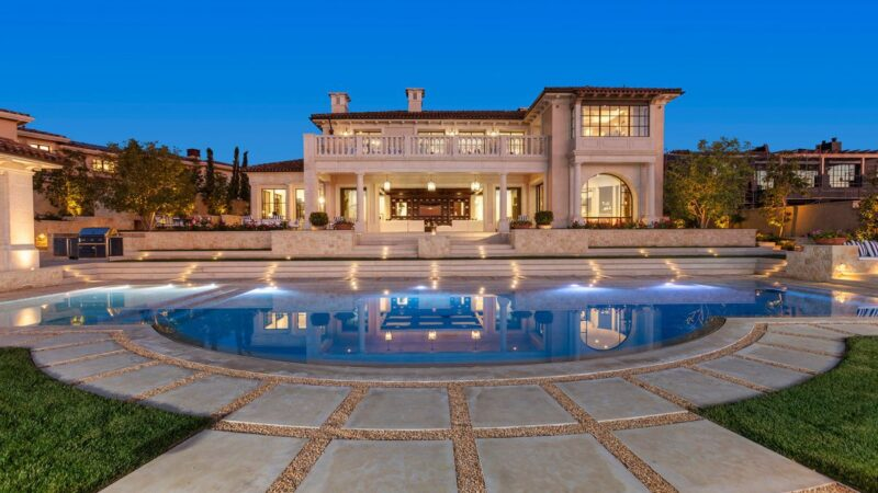 Brand New Northern Italian-inspired Home in Newport Coast hits Market for $28 Million