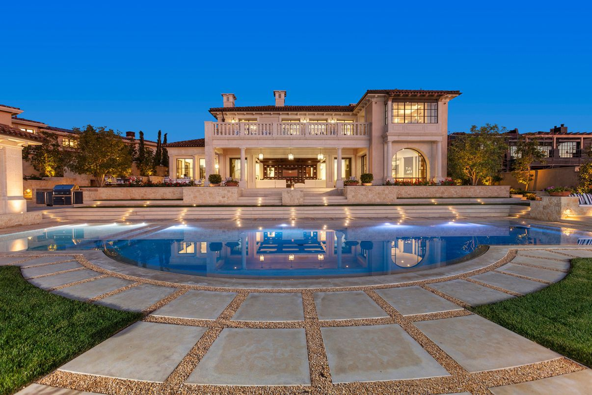 Northern Italian-inspired Home in Newport Coast hits Market for $28 Million