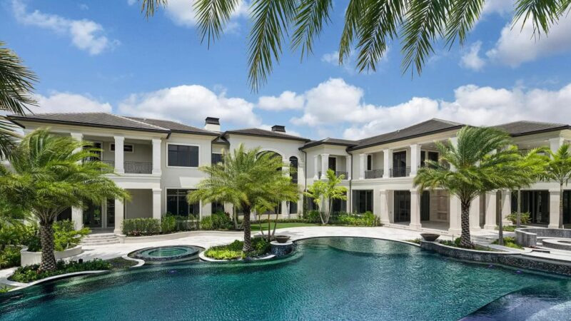 Sophisticated Rockybrook Estate in Delray Beach hits Market for $23.5 Million