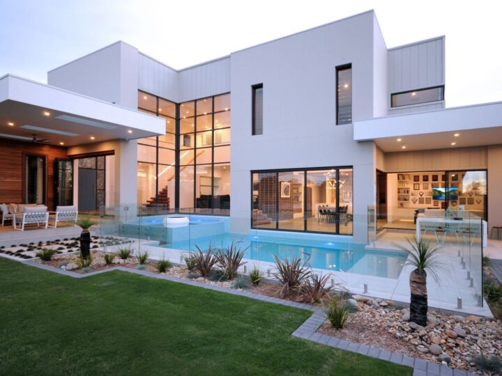 Bella Vista Waters Home in in Australia by Urban Harmony Luxury Residential Design