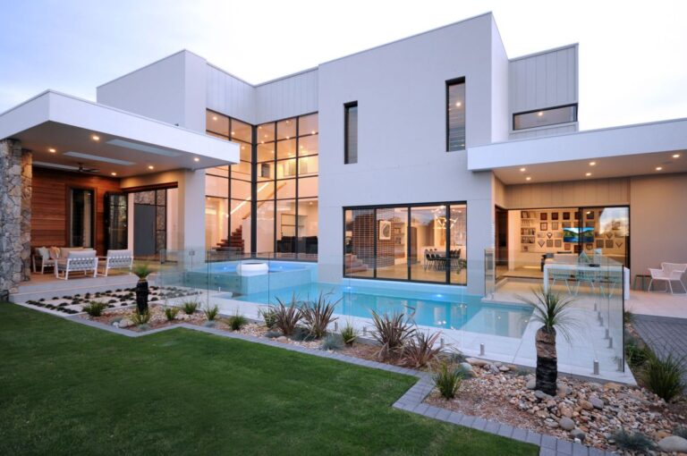 Bella Vista Waters Home in in Australia by Urban Harmony Luxury Residential Design, modern home