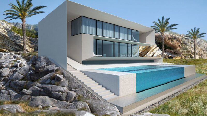 Design Concept for House in Ibiza, Spain by Alexander Zhidkov Architect