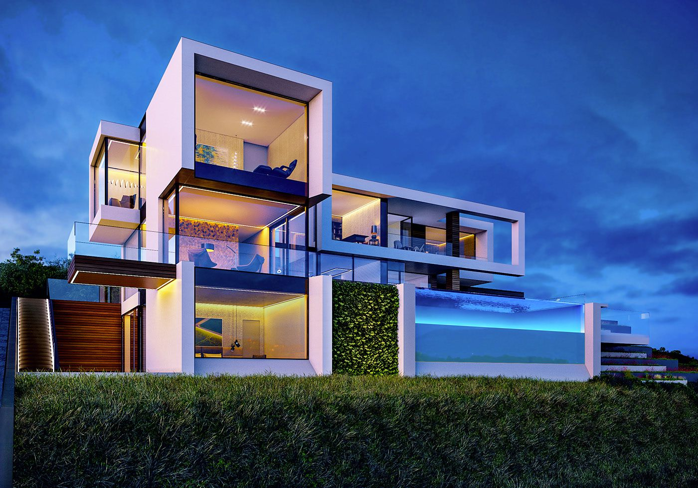 Design Concept for House in Limassol, Cyprus by Alexander Zhidkov Architect