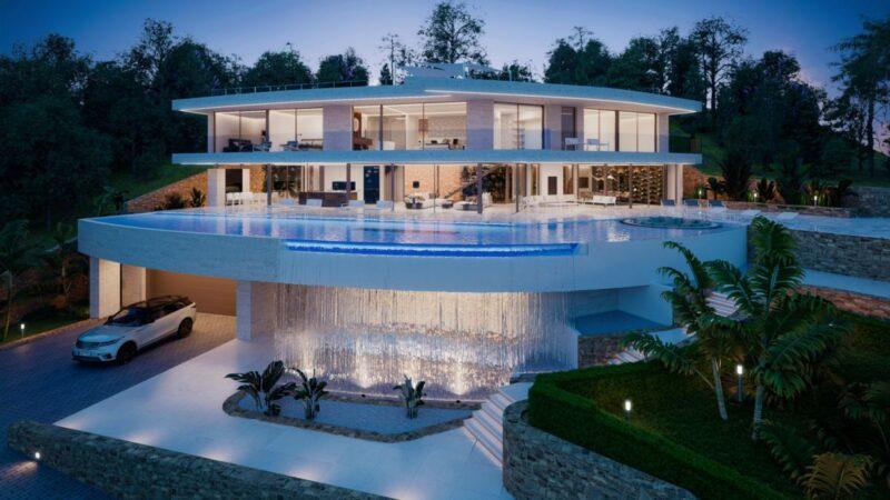 Design Concept of €9.9 Million Villa Serenity in Ibiza, Spain