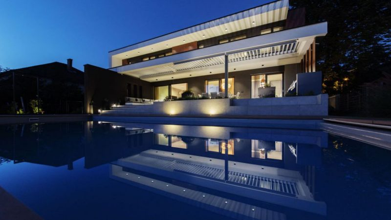 Exceptional Modern Villa in Budapest, Hungary by Toth Project