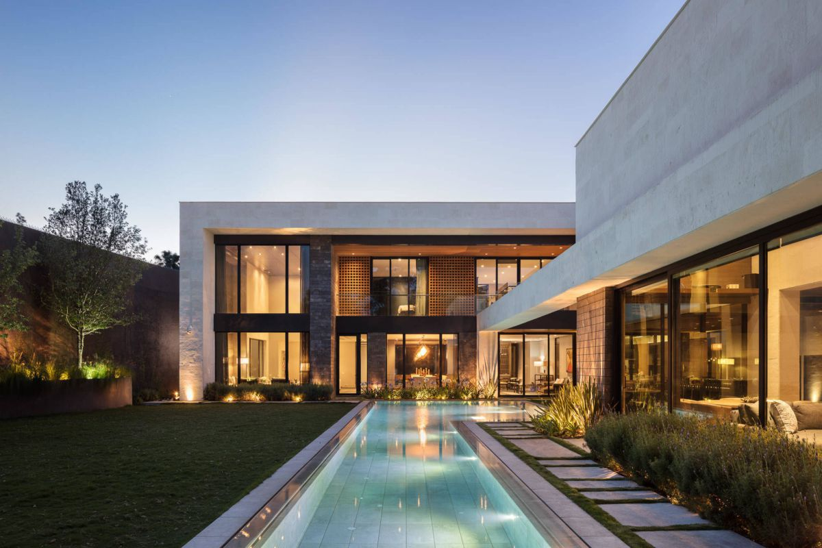 GL Contemporary in Nuevo Leon, Mexico, Bernardo Pozas Residential Design