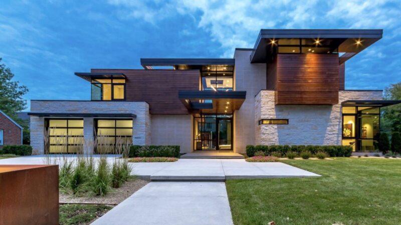 Huber Residence in Crystal Falls, Michigan by AZD Associates