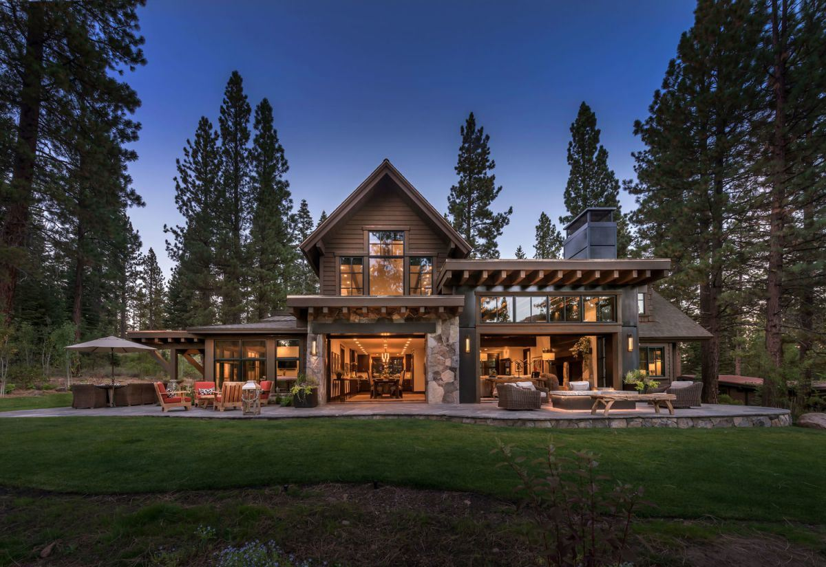 Lahontan Residence in Truckee, California by Nicholas Sonder Architect