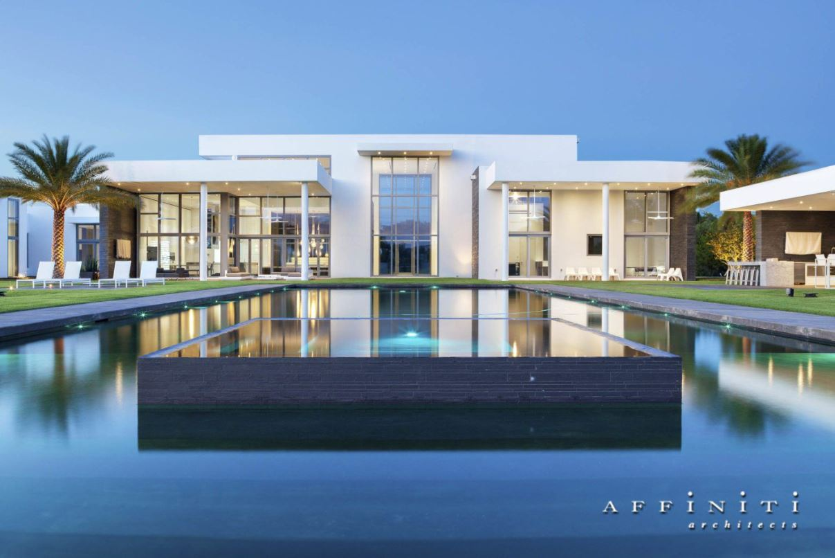 Lakeside Modern Home in Florida by Affiniti Architects