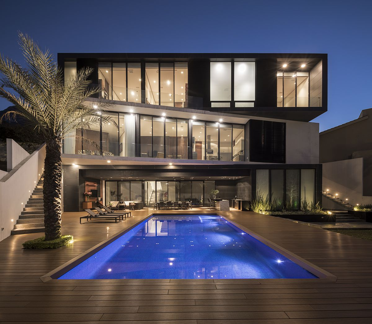 Las Calzadas House in Neuvo Leon, Mexico by GLR Architects