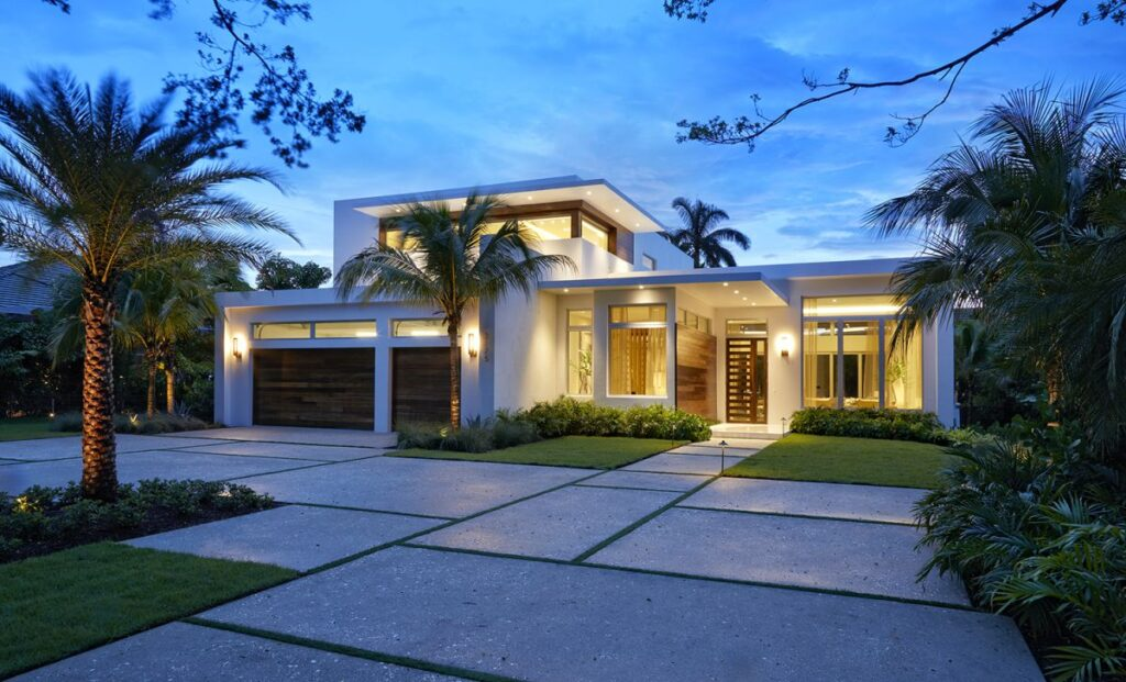 Modern Home in Naples, Florida by In-Site Design Group LLC