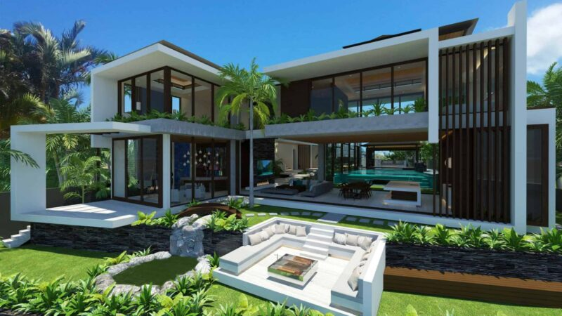 Sovereign Sanctuary Design Concept in Queensland by Chris Clout Design