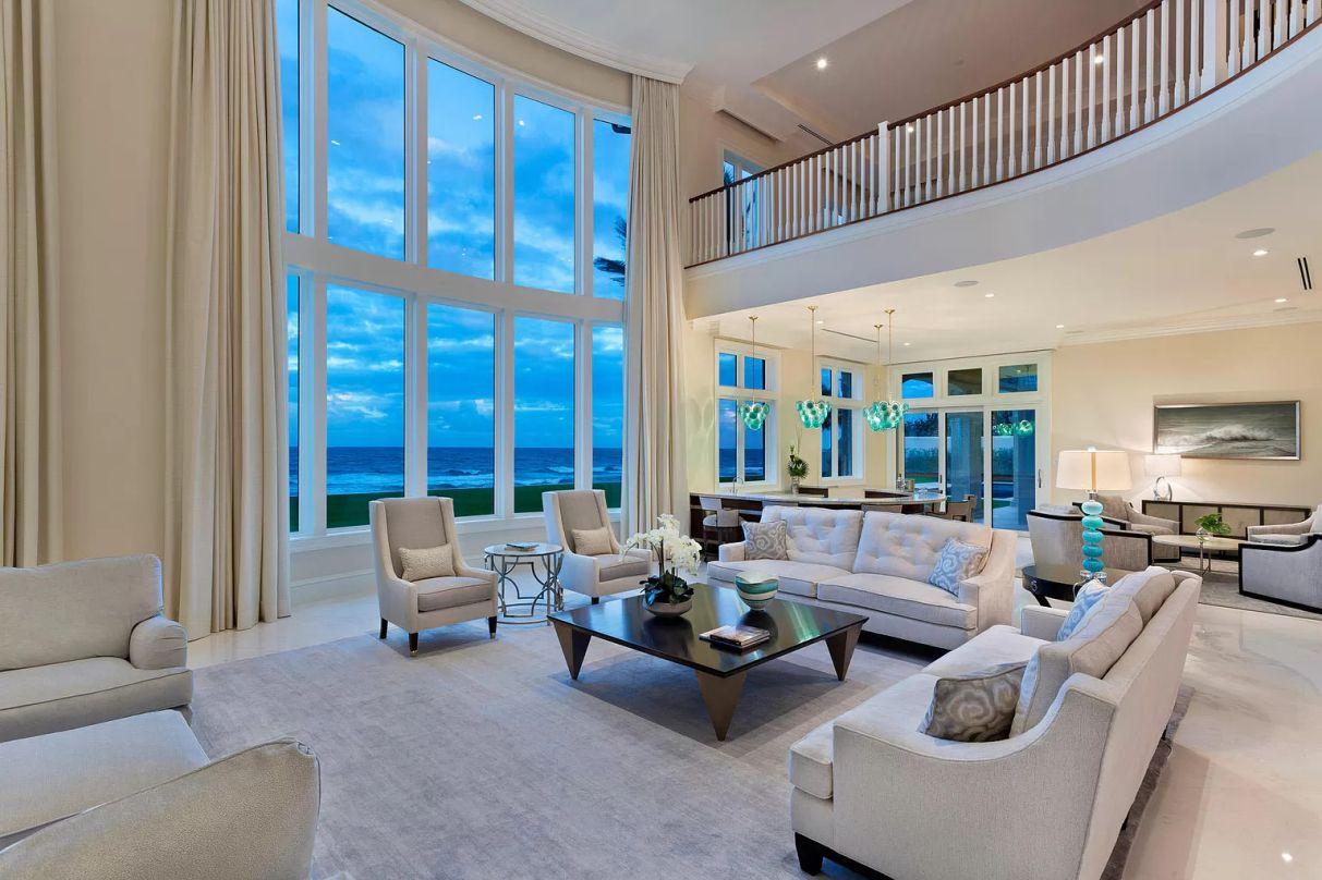 1040 South Ocean Boulevard - Sublime Lantana Seaside Masterpiece for sale, Florida