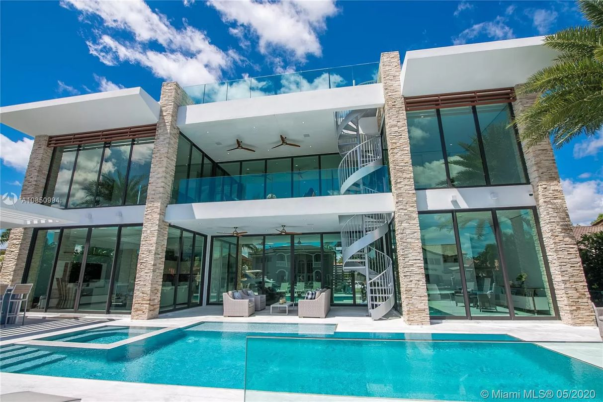 North Miami Beach Ultra Modern Waterfront Home, florida house for sale