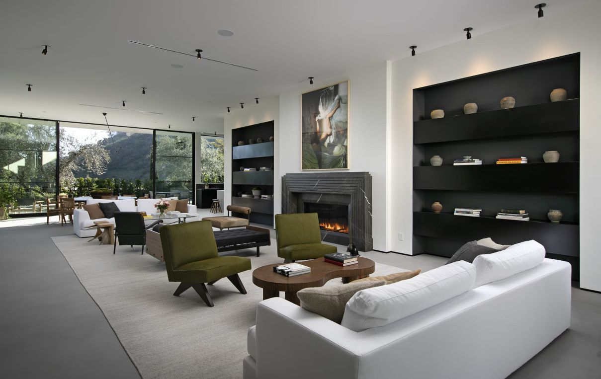 1731 Rising Glen - An Exquisitely Sophisticated Residence on Market for $9.8 Million