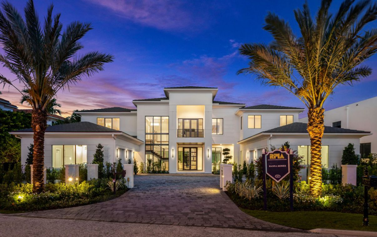 A Remarkable Home in Boca Raton's Finest Community for Sale