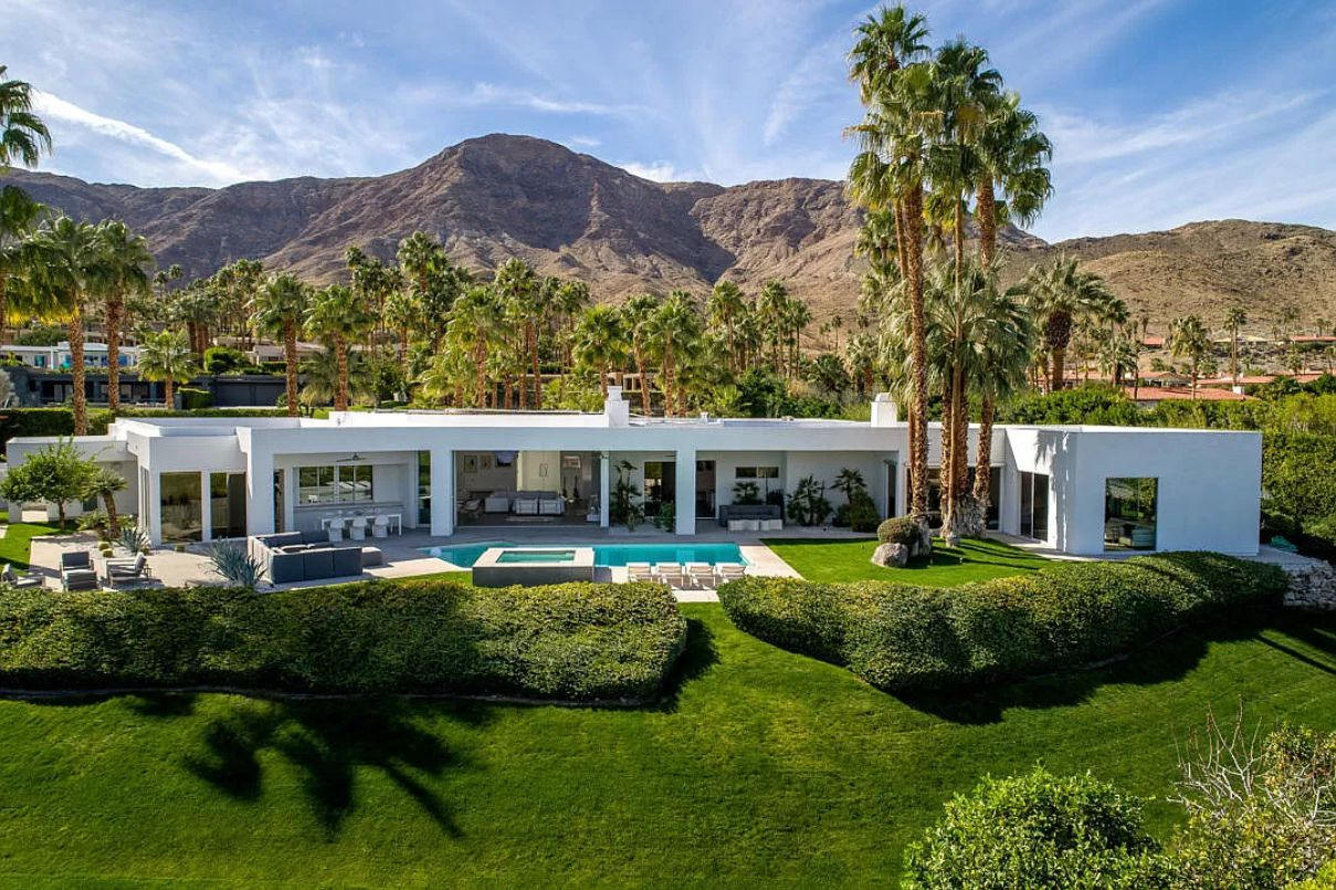 Spectacular Thunderbird Heights Estate in Rancho Mirage for Sale