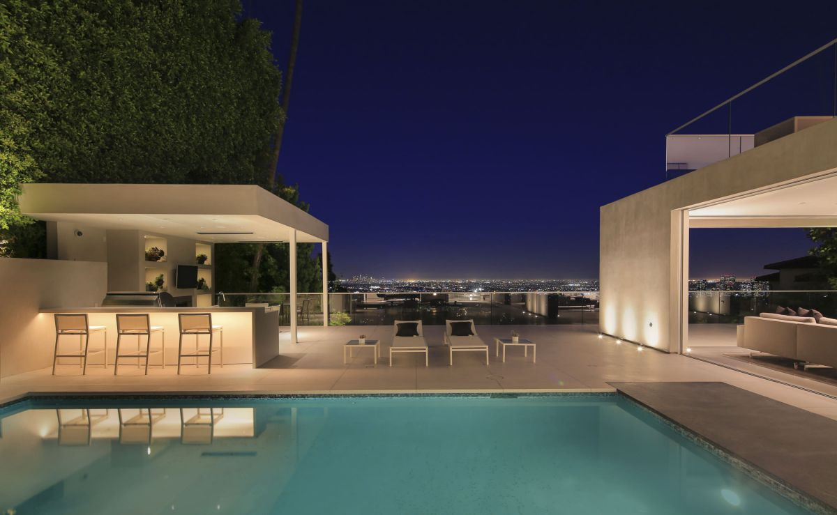 Angelo Drive Residence in Beverly Hills by Kovac Design Studio
