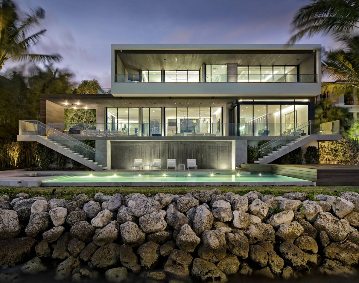 Bass Residence in Miami, Florida by Strang Architecture, modern home