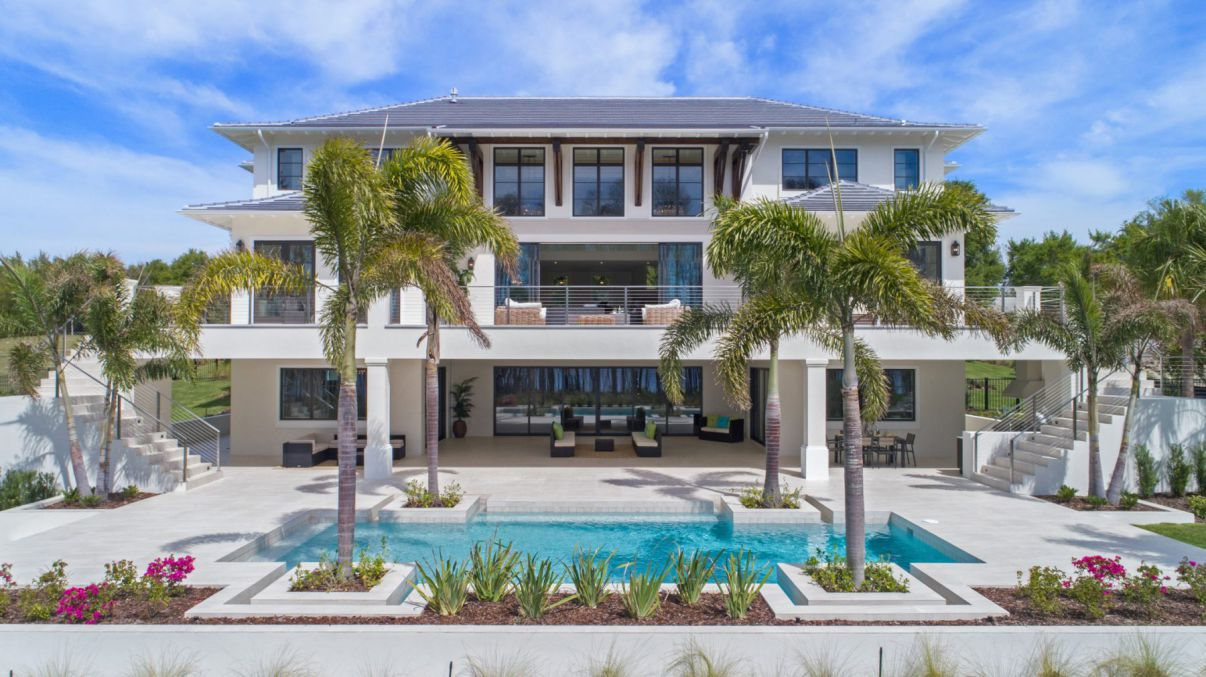Blanche Cove Custom Home in Windermere, Floria by Phil Kean Design Group