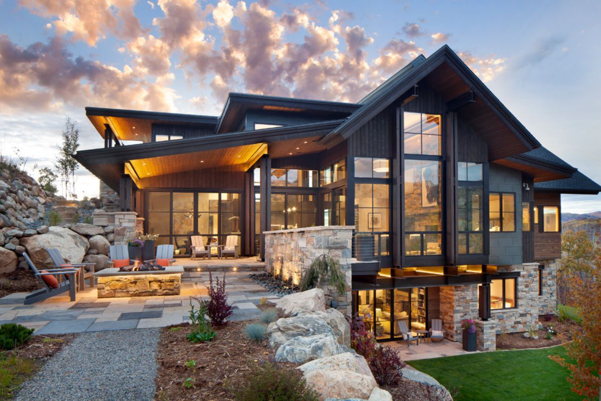 Boulder Ridge Residence in Steamboat Spring, Colorado by Vertical Arts Architecture