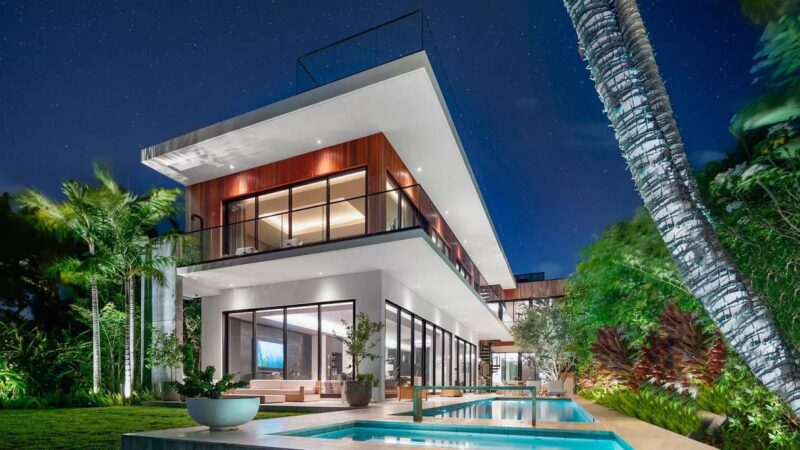 Brand New Dilido Home on the Venetian Islands hits Market for $13.7 Million