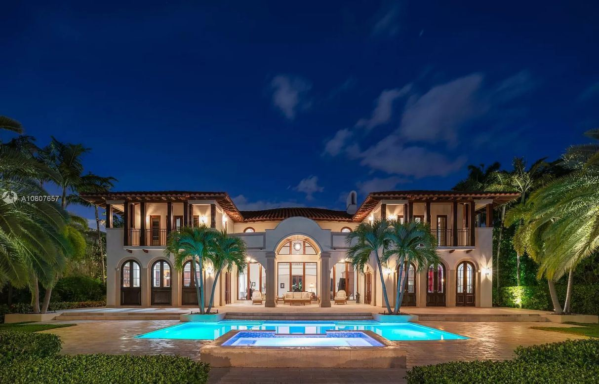 Broadview Italian Residence in Bay Harbor Islands for Sale